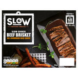 Slow Tender Meats Slow Cooked Beef Brisket in a Bourbon BBQ Sauce 350g