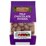 Snacking Essentials Milk Chocolate Raisins 150g