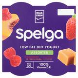 Dale Farm Spelga Low Fat Yogurt Assorted 4 x 125g