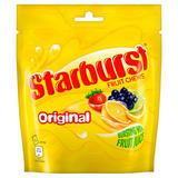 Starburst Original Fruit Chews Pouch 165g