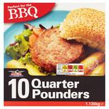 Stateside Diner 10 Quarter Pounders 1.135kg