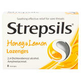 Strepsils Honey & Lemon 8 Lozenges