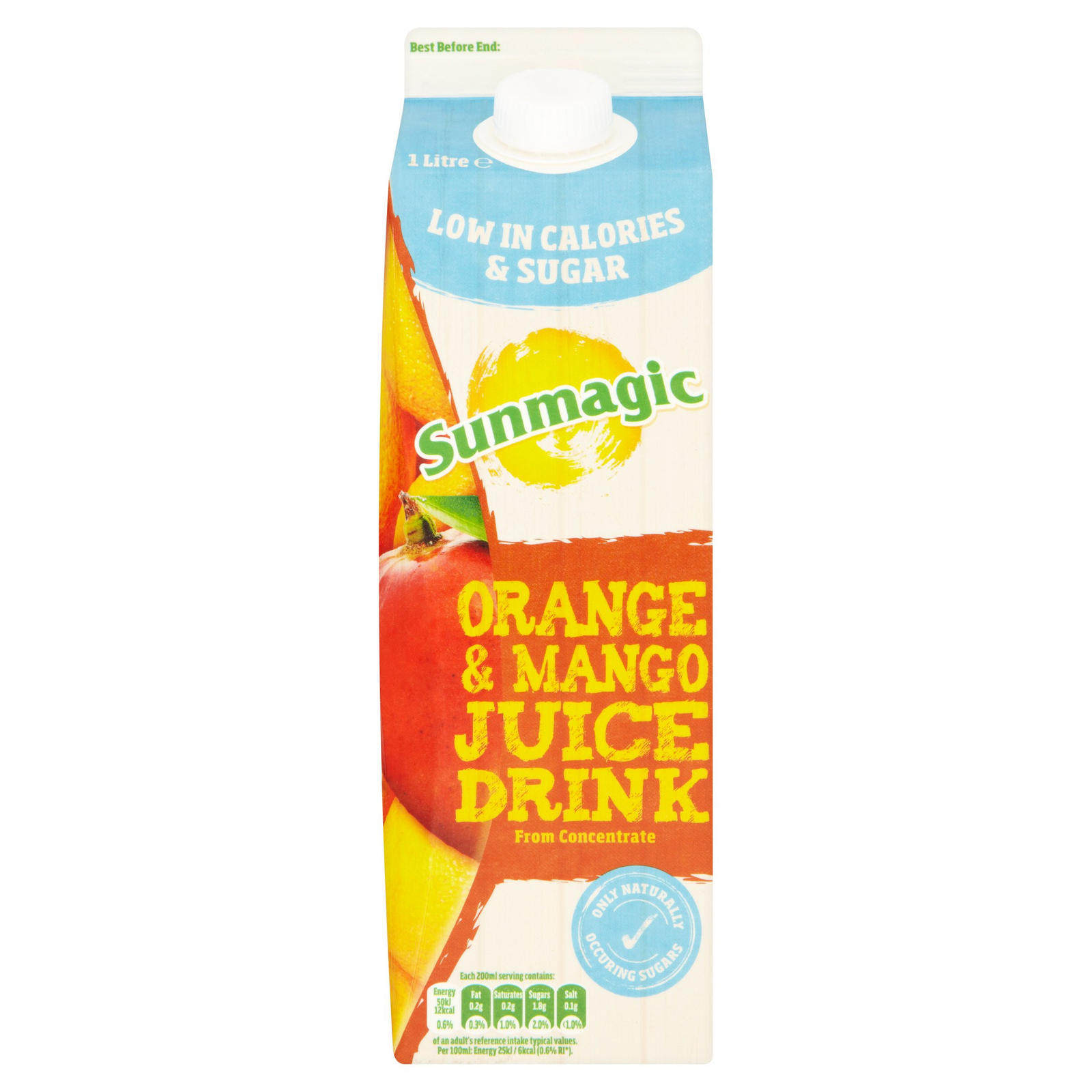 Sunmagic Orange and Mango Juice Drink 1 Litre | Iceland Foods