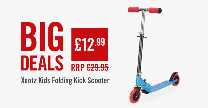 Xootz kids folding kick scooter