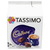 Tassimo Cadbury Hot Chocolate Pods 8 Servings
