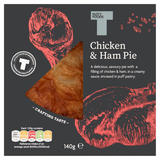 Tasty Foods Chicken & Ham Pie 140g