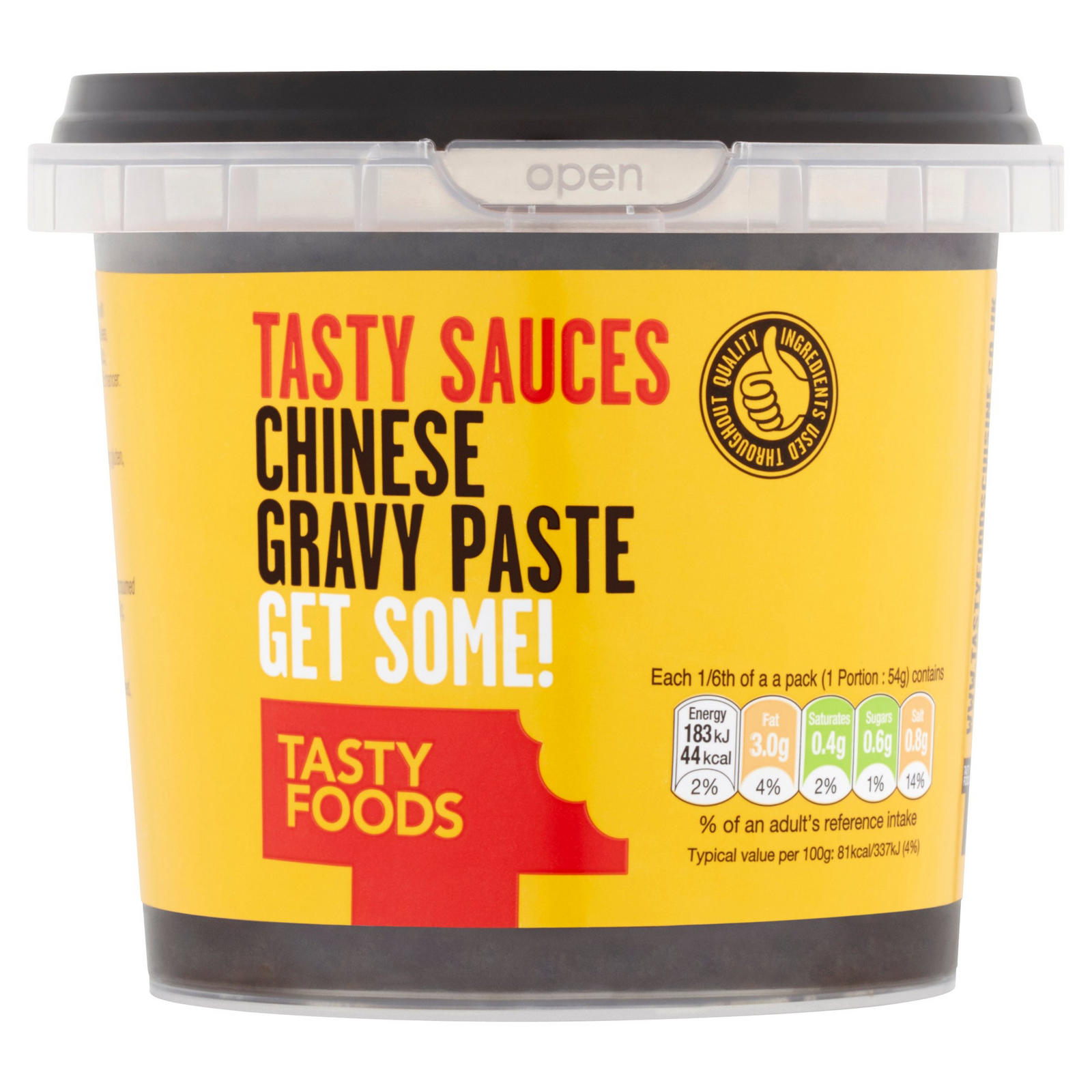 Tasty Foods Tasty Sauces Chinese Gravy Paste 325g | Gravy