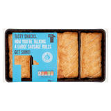 Tasty Foods Tasty Snacks Now You're Talking 4 Large Sausage Rolls Get Some! 240g