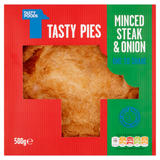 Tasty Foods Tasty Pies One to Share Minced Steak & Onion 500g
