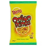 Tayto Onion Flavour Rings 65g