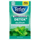 Tetley Super Herbals Detox Mint Tea Bags x20