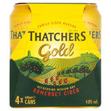 Thatchers Gold Cider 4 x 440ml