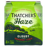 Thatchers Haze Cider 4 x 440ml