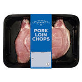 The Butcher's Market Pork Loin Chops 450g