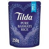 Tilda Pure Microwave Basmati Rice Classics 250g