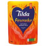 Tilda Firecracker Hot Spicy Basmati Rice 250g