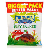 The Natural Confectionery Co. Jelly Snakes Sweets Bag 500g