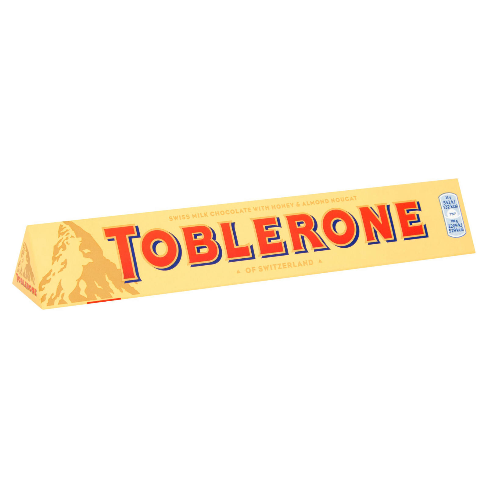 Toblerone Milk Chocolate Bar 100g Individual Large