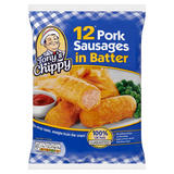 Tony's Chippy 12 Pork Sausages in Batter 460g