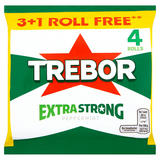 Trebor Extra Strong Peppermint 3+1 Free Rolls 165.2g