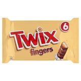 TWIX® Fingers 6 x 23g