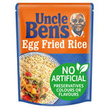 Uncle Bens Microwave Egg Fried Rice 250g