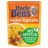 Uncle Bens Microwave Golden Vegetable Rice 250g