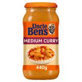 Uncle Bens Medium Curry Sauce 440g
