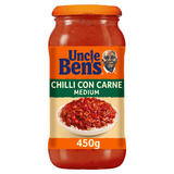 Uncle Bens Chilli Con Carne Medium Sauce 450g