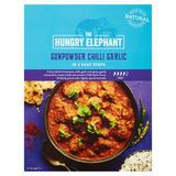 The Hungry Elephant Gunpowder Chilli Garlic 320g