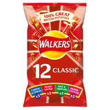 Walkers Classic Variety Crisps 12x25g