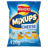 Walkers Mix Ups Cheese Snacks 120g