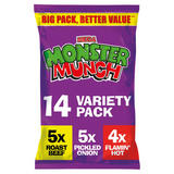 Monster Munch Variety Snacks 14x22g