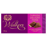 Walkers Turkish Delight Thins with Milk Chocolate 150g