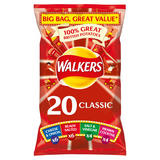 Walkers Classic Variety Crisps 20x25g