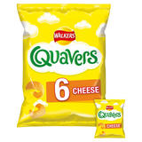 Walkers Quavers Cheese Snacks 6x16g