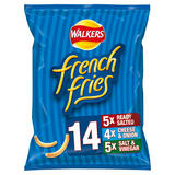 Walkers French Fries Variety Snacks 14x18g