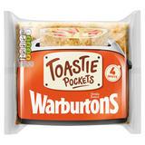 Warburtons 4 White Toastie Pockets