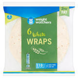 Weight Watchers 6 White Wraps
