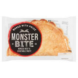 The Welsh Pantry Monster Bite Minced Beef & Vegetable Pasty 300g