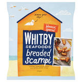 Whitby Seafoods Breaded Scampi 220g
