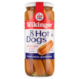 Wikinger 8 Hot Dogs Bockwurst Style in Brine 550g