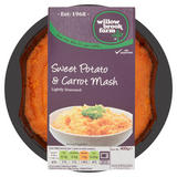 Willowbrook Farm Sweet Potato & Carrot Mash Lightly Seasoned 400g