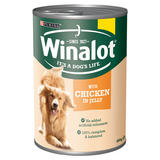 PURINA® WINALOT® Classics Adult Dog in Jelly Chicken Wet Food Can 400g