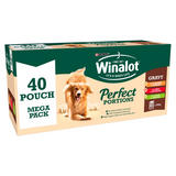 WINALOT Perfect Portions Dog Food Mixed in Gravy 40 x 100g
