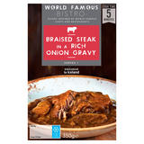 World Famous Braised Steak in a Rich Onion Gravy 350g