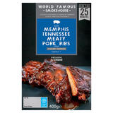 World Famous Smokehouse Memphis Tennessee Meaty Pork Ribs 400g
