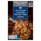World Famous Smokehouse Mississippi Smoked Pulled Pork 400g