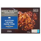 World Famous Smokehouse Mississippi Smoked Pulled Pork 550g