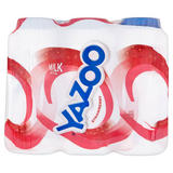 Yazoo Strawberry Milk Drink 6 x 200ml (1200ml)